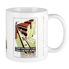 Low Rent Homes Designs Mug