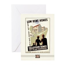 Low Rent Homes Greeting Cards (10 Pack)