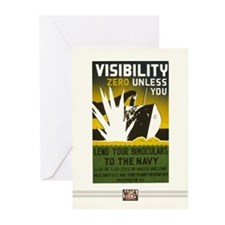 Visibility Zero Greeting Cards (10 Pack)