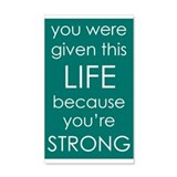 You Are Strong Wall Decal