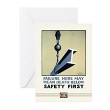 Safety First Greeting Cards (10 Pack)