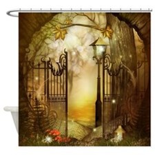 Fairy Woodlands 8 Shower Curtain