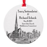 Settembrini & Schock Wedding Wedding Ornament