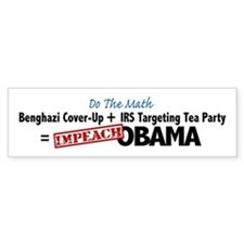 Benghazi Cover Up Impeach Obama Bumper Bumper Sticker