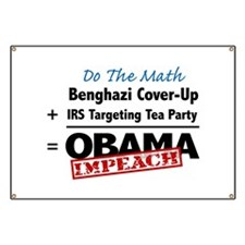 Benghazi Cover Up Impeach Obama Banner