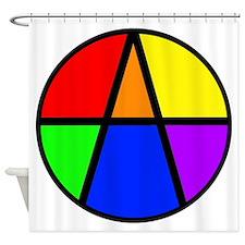 I Am An Ally Shower Curtain