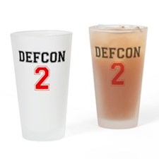 DEFCON 2 Drinking Glass