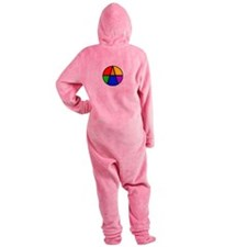 I Am An Ally Footed Pajamas