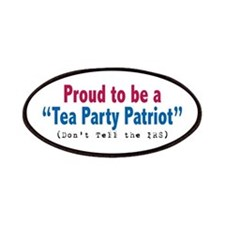 Proud Tea Party Patriot Patches