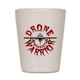 Predator Drone Warrior Shot Glass