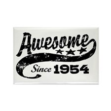 Awesome Since 1954 Rectangle Magnet