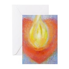 Heart Aflame Greeting Cards (Pk of 10)