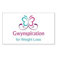 Gwynspiration Sticker (Rectangle)