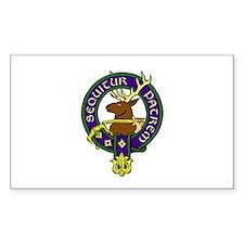 MacDonald of Glenbogle Family Crest Sticker