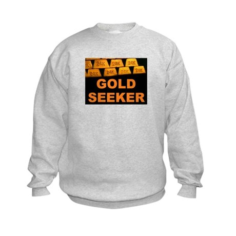 GOLD SEEKER Kids Sweatshirt