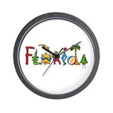 Florida Spirit Wall Clock