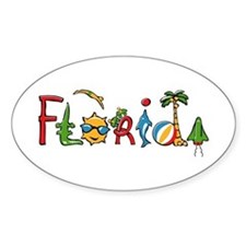 Florida Spirit Oval Decal