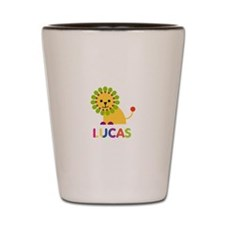 Lucas Loves Lions Shot Glass