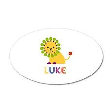 Luke Loves Lions Wall Decal
