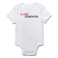 I Love Edmonton Infant Bodysuit