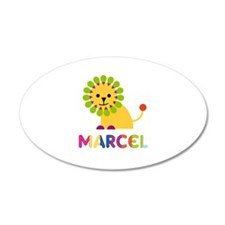 Marcel Loves Lions Wall Decal