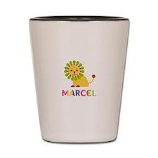 Marcel Loves Lions Shot Glass