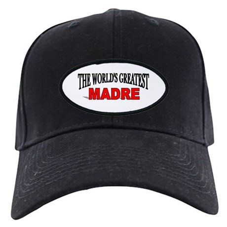 """The World's Greatest Madre"" Black Cap"