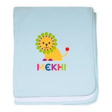 Mekhi Loves Lions baby blanket