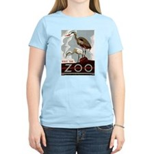 Zoo Herons Women's Pastel T-Shirt