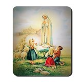 Our Lady of Fatima 1917 Mousepad