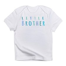 Little Brother in blue Infant T-Shirt