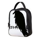 Raven Neoprene Lunch Bag