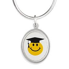 Graduate smiley face Necklaces