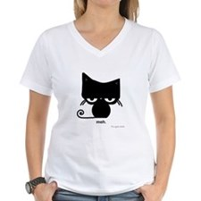 Meh Cat on T-Shirt