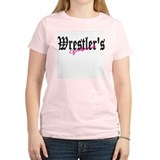 wrestlers girlfriend 10x10 raised.JPG T-Shirt