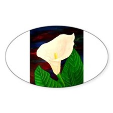 Calla Lilly Decal