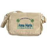 Anna Maria Island-Happy Place Messenger Bag