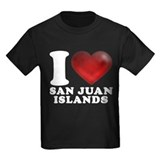I Heart San Juan Islands T-Shirt