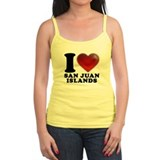 I Heart San Juan Islands Tank Top
