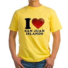 I Heart San Juan Islands T-Shirt