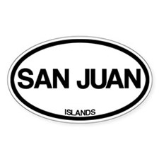 San Juan Islands Decal