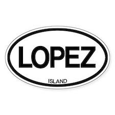 Lopez Island Decal