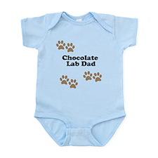 Chocolate Lab Dad Body Suit