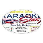 KARAOKE STAR Sticker