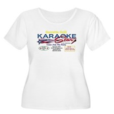 KARAOKE STAR Plus Size T-Shirt