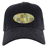 Beach Flip Flops Retro Baseball Hat