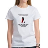 Superheroine Writer T-Shirt