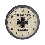 Time For Your Medicine Wall Clock