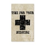 Time For Your Medicine Wall Decal