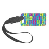 Flip Flops Sand Bright Luggage Tag